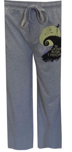 Nightmare Before Christmas Gray Lounge Pant