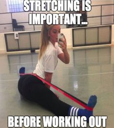 Extremely important in the world of fitness. Ladies!...| #Funny #Yoga #Memes