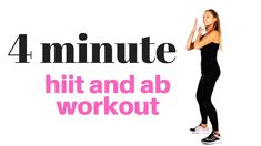 HIIT training can be hard and strenuous, particularly for beginners who are not yet ready to use their body's maximum potential during their workout sessions. Even those who are fit and active need to heat up before they begin with their HIIT training. Standing Ab Exercises, Standing Abs, Workout Routines For Women, Abs Workout For Women, Exercise Routines, Toning Workouts, At Home Workouts, Arm Toning, Weekly Workouts