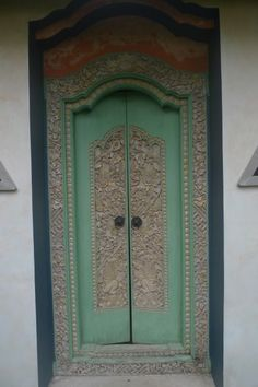 & Balinese double doors   For the Home   Pinterest   Architecture Pezcame.Com