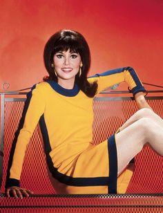 Fashion Tv, 1960s Fashion, Girl Fashion, Hippie Fashion, Vintage Fashion, Marlo Thomas, Classic Actresses, Hollywood Actresses, Girl Pictures