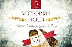 Victorian Gold 5 by O'Gold! on @creativemarket
