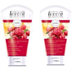 Cranberry & Argan cream oil bodywash and body milk