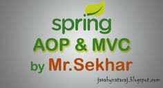 Spring AOP & MVC notes by Mr.Sekhar sir Download