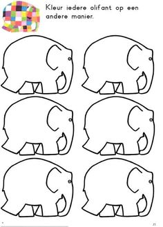 Lots of elmer templates Language Activities, Book Activities, Preschool Activities, Elmer The Elephants, September Themes, Elephant Crafts, Reading Projects, Book Study, Eric Carle