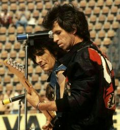 Ronnie Wood and Keith Richards of The Rolling Stones