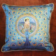 Mandalas on Pillows of Silk - by Nadean O'Brien from Mandalas on Silk