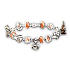 MLB San Francisco Giants 2012 World Series Beaded Bracelet