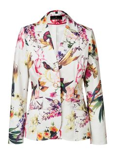 Alfredo Pauly   Women's Fashion   Blazer mit Druck   #HSE24 #style #accessories #jacket