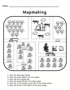 Kindergarten Social Studies Worksheet Printable