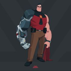 Here's some fanart and skins of one of my favourite characters - MR INCREDIBLE! To be honest I can't decided which skin I love more but there's something about the second one that makes him look menacing and I love it! Disney Incredibles, My Hero Academia, Pixar, Superman, Comic Art, Iron Man, Two By Two, Character Design, Dads