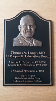 Memorial Plaques | You can honor the memory of people who do amazing things with a dedicated memorial plaque.