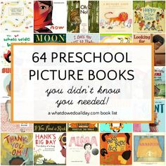 64 Preschool Books You Didn't Know You Needed