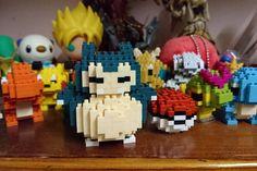 «& snorlax enters the battle!  No. 81  #snorlax #pokemon #nano #nanoblock #pokeballs #Lego #squad #soh #366 #anime #childhood»