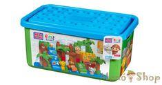 Mega Bloks  Szafari 101 db építőkocka dobozban (DCL33)