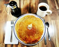 A giant stack of pancakes at The Maple Tree in Coudersport will start your day off right!  http://www.visitpottercounty.com/listings/Maple-Tree-Restaurant/413/