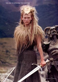 Queen Jadis from Chronicles of Narnia - if I ever do a warrior character I want a costume like this one, it's gorgeous!