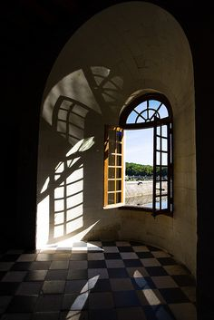 Chenonceaux     I have my own photo of this window facing straight out of it.