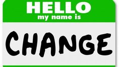 Stop simply ACCCEPTING change.