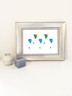 Para para paradise! Gorgeous paragliders print perfect for a little ones bedroom!