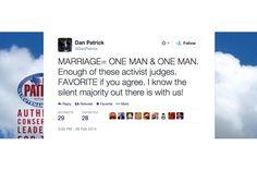 Senador do Texas tuita por engano que casamento é a uniao de 2 homens ;-) - Blue Bus