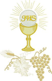 Première Communion, First Holy Communion, Bible Pictures, Religious Cross, Church Banners, Gold Embroidery, Corpus Christi, Machine Embroidery Designs, Diy And Crafts
