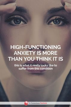 Do you suffer from high-functioning anxiety? Think you might, but you're not quite sure. Take a look at this description of what this form of anxiety really looks like. High Functioning Depression, High Functioning Anxiety, Best Medication For Depression, Depression Symptoms, Signs Of Depression, Fighting Depression, Depression And Anxiety Quotes, Get Skinny