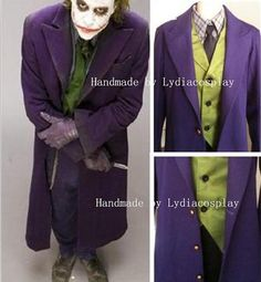 Handmade - Joker Costume, Joker Cosplay, Batman Jack Joker Cosplay Costume