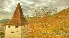 Turnul de aparare din Biertan Landscapes, Painting, Art, Paisajes, Art Background, Scenery, Painting Art, Kunst, Paintings