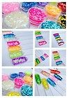 SMALL SQUARE  NAIL ART GLITTER IN POTS ACRYLIC or GEL  £0.99