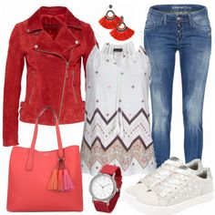 Freizeit Outfits: LovelyRed bei FrauenOutfits.de