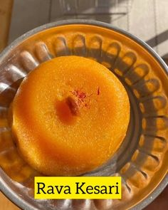 """Jayanthi Sampath on Instagram: """"Rava kesari - a popular South Indian sweet made from rava /semolina. This is my amma's signature dish and I'm happy to share this foolproof…"""""""