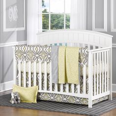 Enter to win a fab 4-piece bumperless crib bedding set from @Liz Mester and Roo: Fine Baby Bedding! #win #giveaway