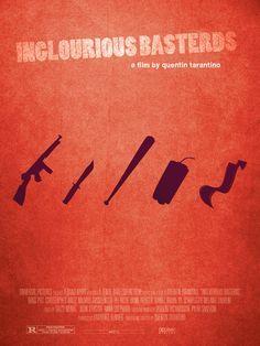 Inglourious Basterds (2009) ~ Minimal Movie Poster