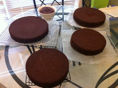 Tiered cake how to