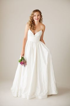 Charming Wedding Dress, Ingenue Collection by Lea-