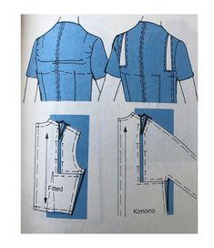 Adding width across shoulders The Effective Pictures We Offer You About Crochet Clothing plus size A Tailoring Techniques, Sewing Techniques, Pattern Cutting, Pattern Making, Dress Sewing Patterns, Clothing Patterns, Textile Manipulation, Sewing Alterations, Sewing Blouses