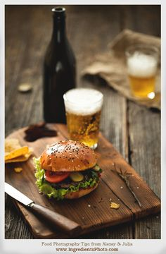Food Photography Tips by Alexey & Julia | Create Your Own Vintage Cutting Board