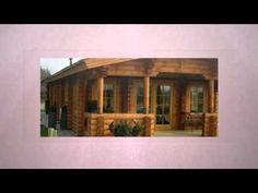 In Log Cabins UK internal walls are made of solid logs to match logs used for external walls. Bespoke solid log Cabins are built to suit client choice, site . Log Cabins Uk, Log Cabin Homes, Eco Buildings, Eco Homes, Double Glazed Window, Brick Building, Central Heating, Architect Design, Rustic Charm