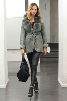 """""""Happy #Girls are the #Prettiest""""  #Fur with #Fox, #MadeinItaly  Click on this…"""
