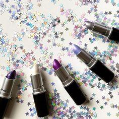 #glitter #star #MAC #lipstick 💄 🌟✨