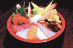 Kintaro lunch chirashi