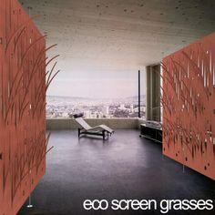 EcoScreen Grasses   Architectural Screens   Yellow Goat Design - Custom Lighting