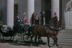 Under Capricorn-1948 in the town square, wearing a hat and coat (13 minutes)