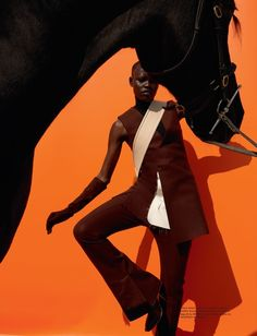 www.pegasebuzz.com | Grace Bol by Viviane Sassen for Pop Magazine, fall-winter 2015.