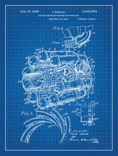 P3 orion blueprint art sp pinterest travel posters aviation airplane engine patent print on blue graph paper background blueprint artmesh malvernweather Gallery