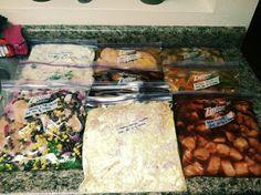 10 freezer to crockpot meals