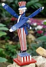Uncle Sam Whirligig