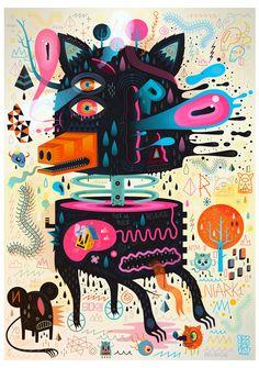 Prints 2012 by Seb NIARK1 FERAUT, via Behance