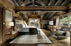 World class luxury ski holiday Chalet Edelweiss in Courchevel 1850 available to book through Ultimate Luxury Chalets. Fully Catered, Swimming Pool, Hot Tub, Sauna, Steam Room, Cinema, Ski In Ski Out.